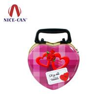 心形马口铁盒定制|结婚喜糖盒|糖果盒包装 NC2378
