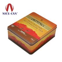 方形马口铁茶叶罐|茶叶铁罐定制|茶叶罐 NC2922