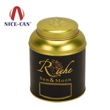 马口铁盒铁罐|茶叶铁罐|圆形茶叶罐NC2933