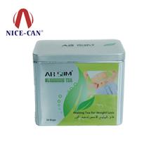 减肥茶铁盒|保健品铁盒|方形茶叶铁罐 NC2937