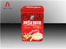 马口铁保健品盒|瘦身咖啡铁盒 NC2611