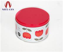 圆形马口铁罐定制 护手膏铁盒 护肤品铁盒生产 NC2417B
