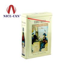 马口铁罐定制|方形白酒铁罐包装 NC2424