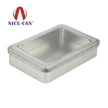 开窗铁盒定制|方形铁盒包装 NC2562A