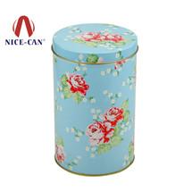 圆形马口铁罐|花茶铁盒|糖果铁盒|咖啡铁盒 NC2415