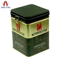 方形马口铁密封罐|咖啡食品铁罐 NC2561