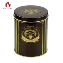 圆形食品包装铁盒 NC2416