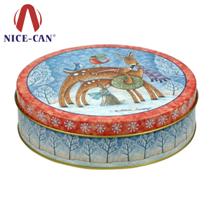 圆形铁罐 NC2538