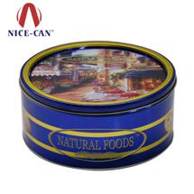 圆形饼干铁盒 NC2965