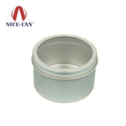 圆形开窗食品化妆品铁罐定做 NC2004