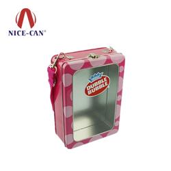 定做方形开窗铁罐 NC2474
