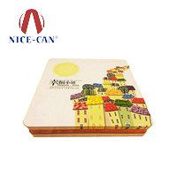 月饼包装铁盒|四个装月饼铁盒包装供应