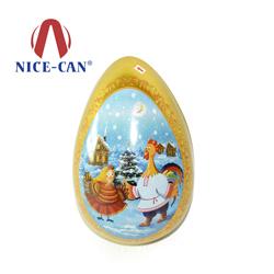 大号鸡蛋|蛋形糖果铁罐定做 NC2954
