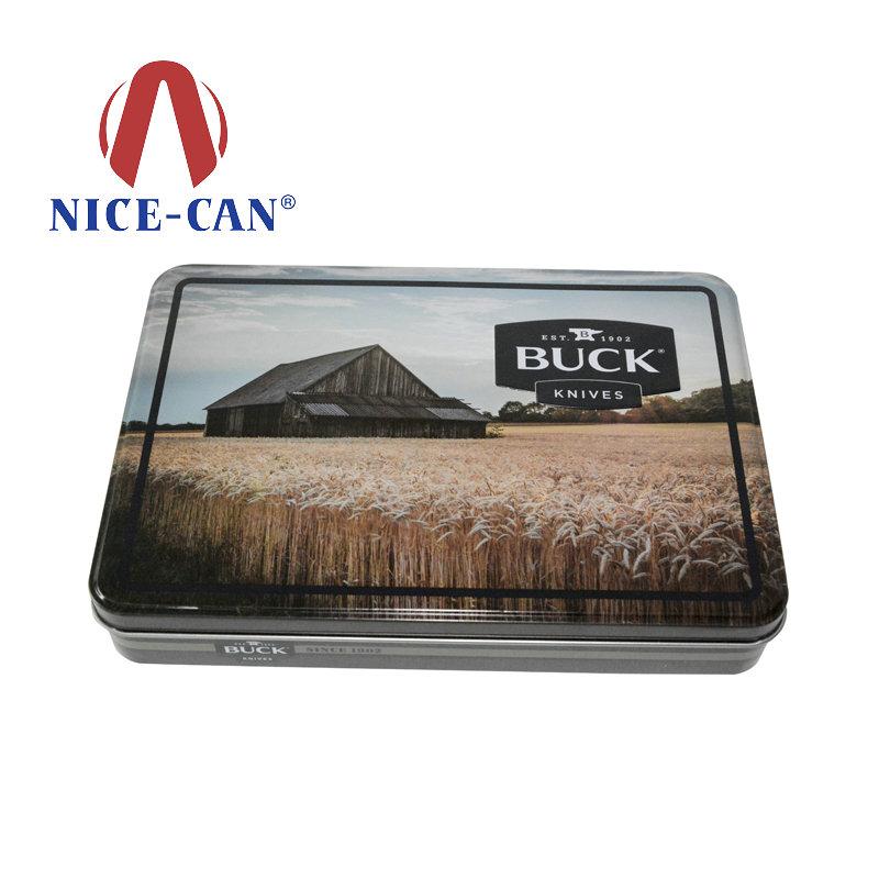 方形马口铁面膜铁盒定制 NC2403B-01
