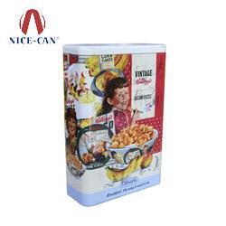 拼图铁盒 茶叶金属包装盒 糖果铁盒 NC3145