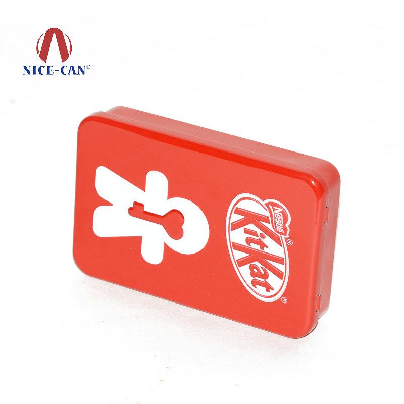 雀巢kitkat巧克力铁盒|食品包装铁盒 NC2865-005