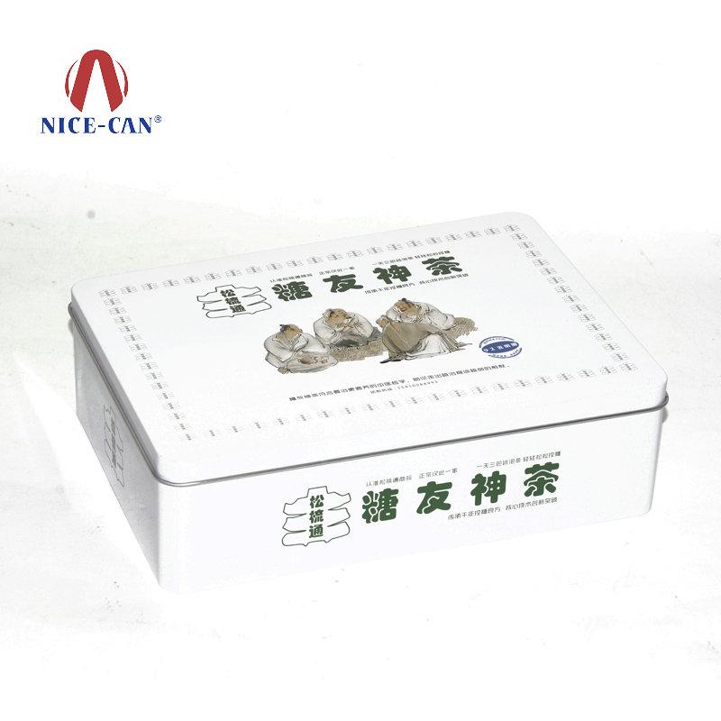 糖友神茶保健品马口铁盒 NC2833