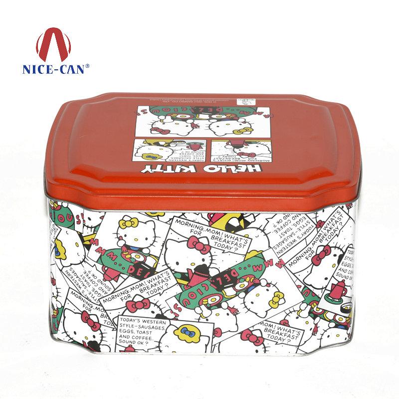 八角糖果铁罐|卡通礼品铁盒包装定做 NC2727