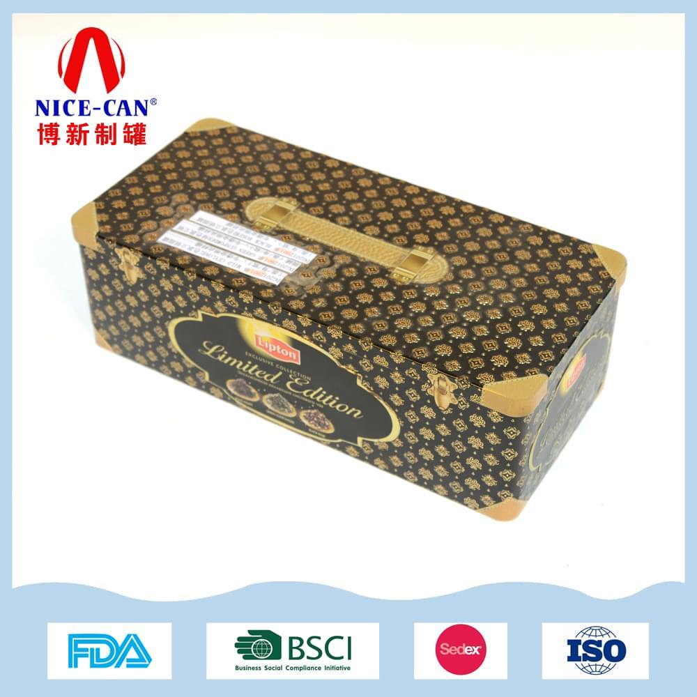 长方形茶叶铁盒|茶叶礼品包装铁盒