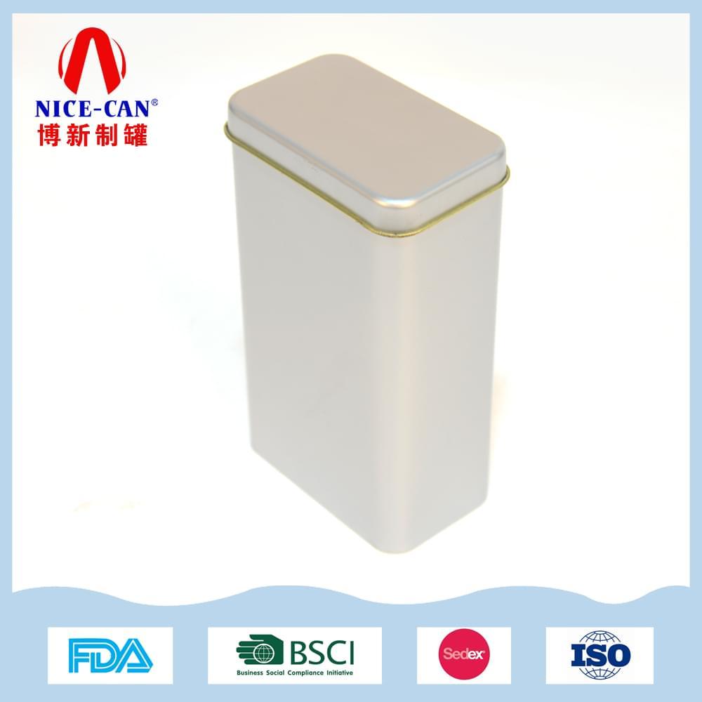 方形茶叶铁盒|马口铁茶叶罐 NC2302-002