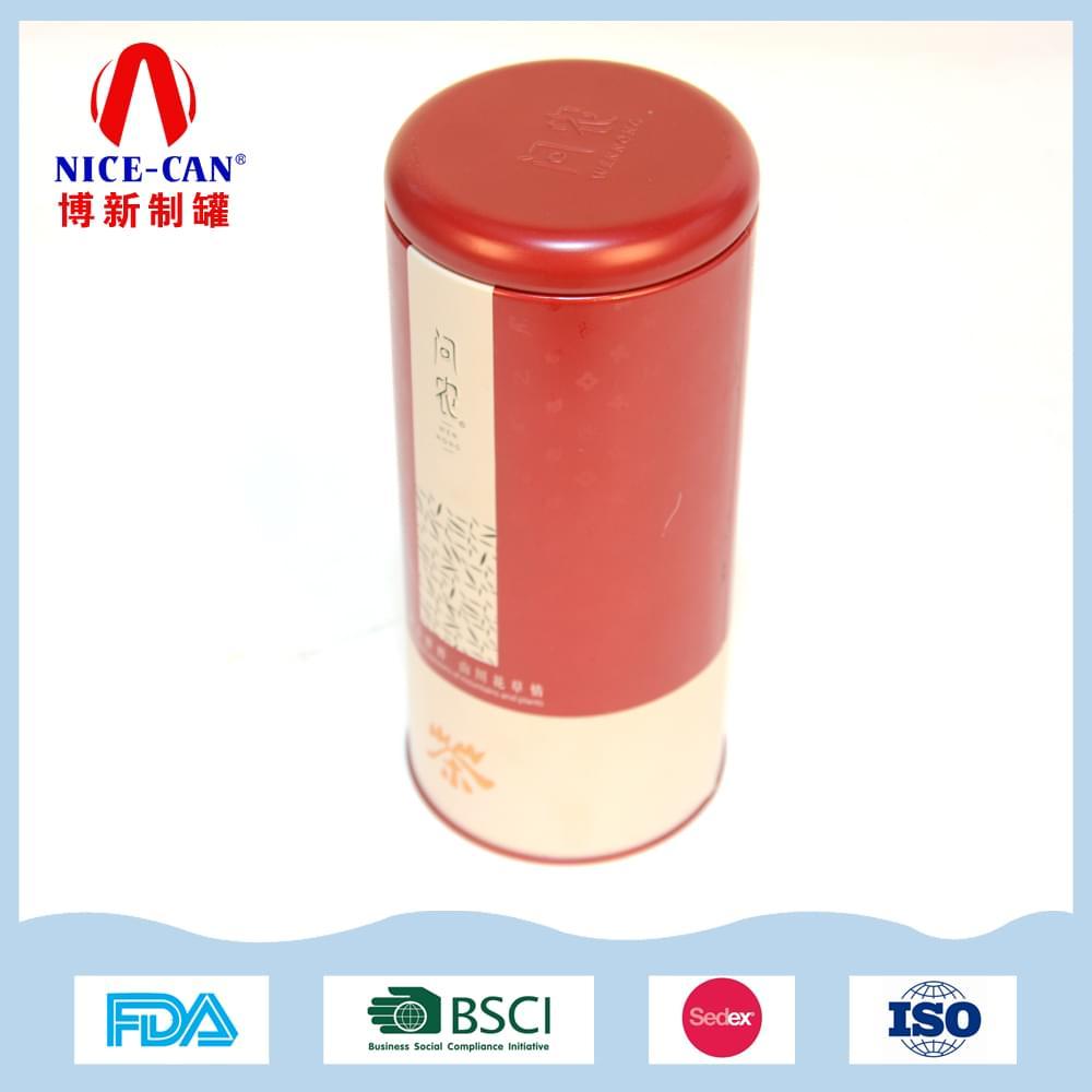 圆形茶叶铁盒|绿茶红茶乌龙茶铁观音铁罐定制 NC2849D-004