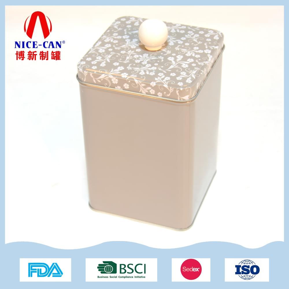 茶叶铁盒|特色马口铁茶叶罐定制 NC2505A