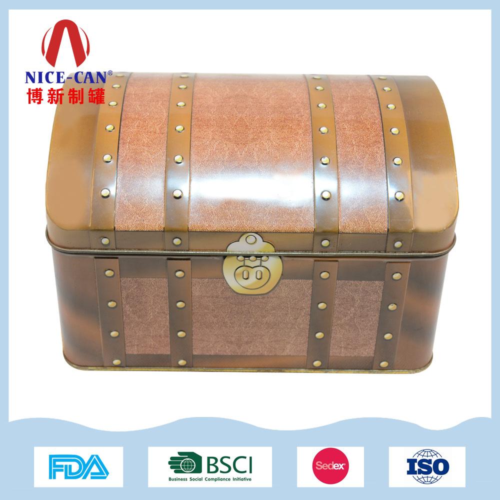 长方形金属收纳铁盒|高档礼品包装铁盒 NC2390