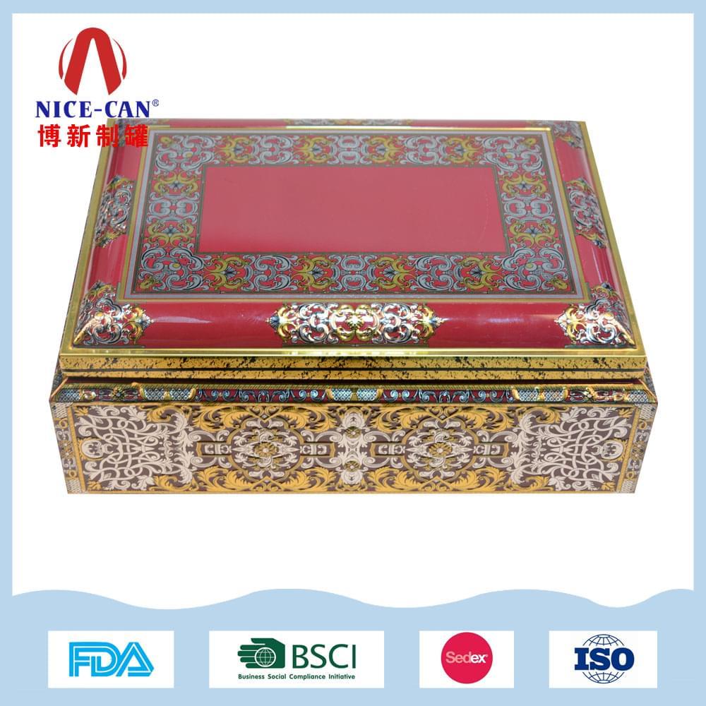 珠宝首饰包装铁盒|高档装饰品收纳铁盒 NC3082