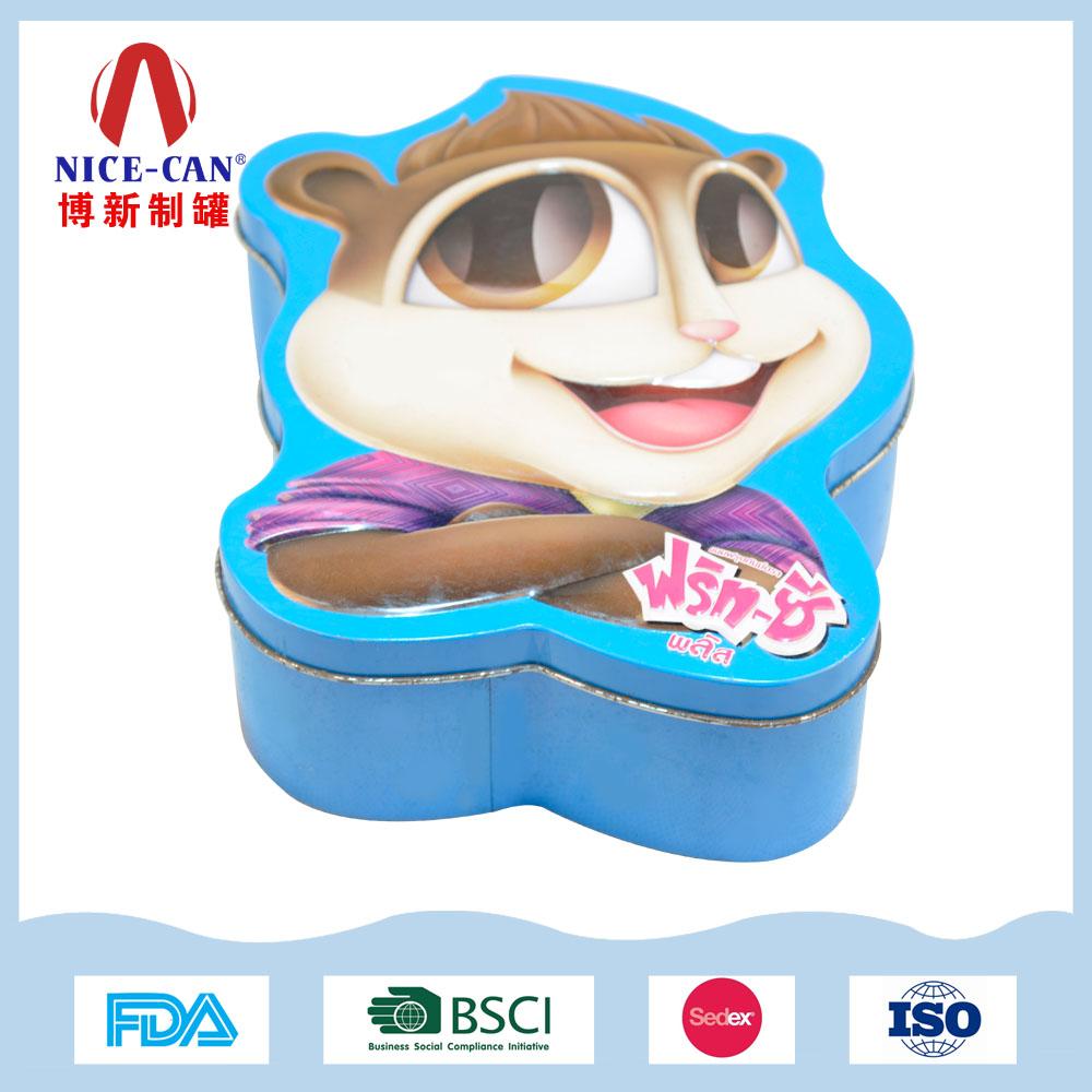 异形饼干包装铁盒|巧克力糖果铁罐包装 NC3127-001