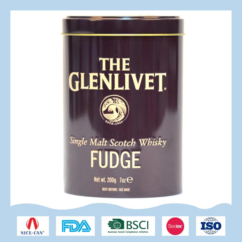 纯麦苏格兰威士忌酒罐|酒类礼品包装铁盒定制 NC3054-006