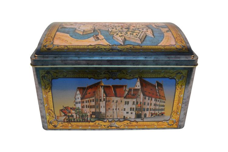 复古储物铁罐|大号方形铁盒    NC2700