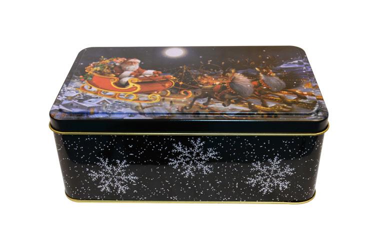 圣诞礼品铁罐|铁盒定制 NC2705A