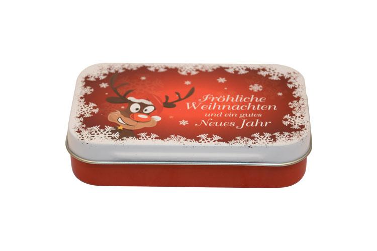 圣诞铁盒包装|礼品铁盒 NC2025