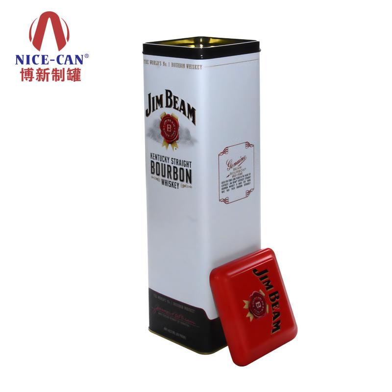 威士忌洋酒铁盒|出口酒盒包装定制 NC2689A
