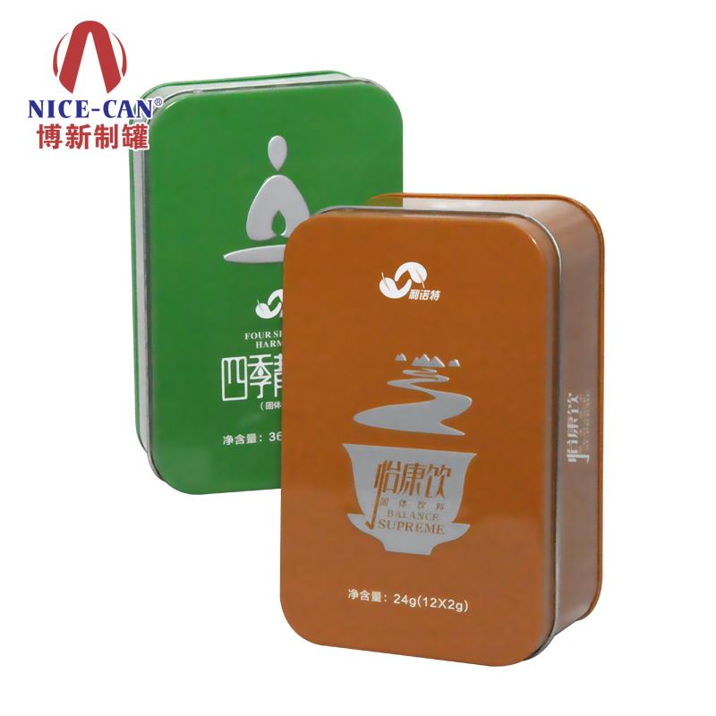 保健品铁盒包装|长方形铁盒定  NC2697C