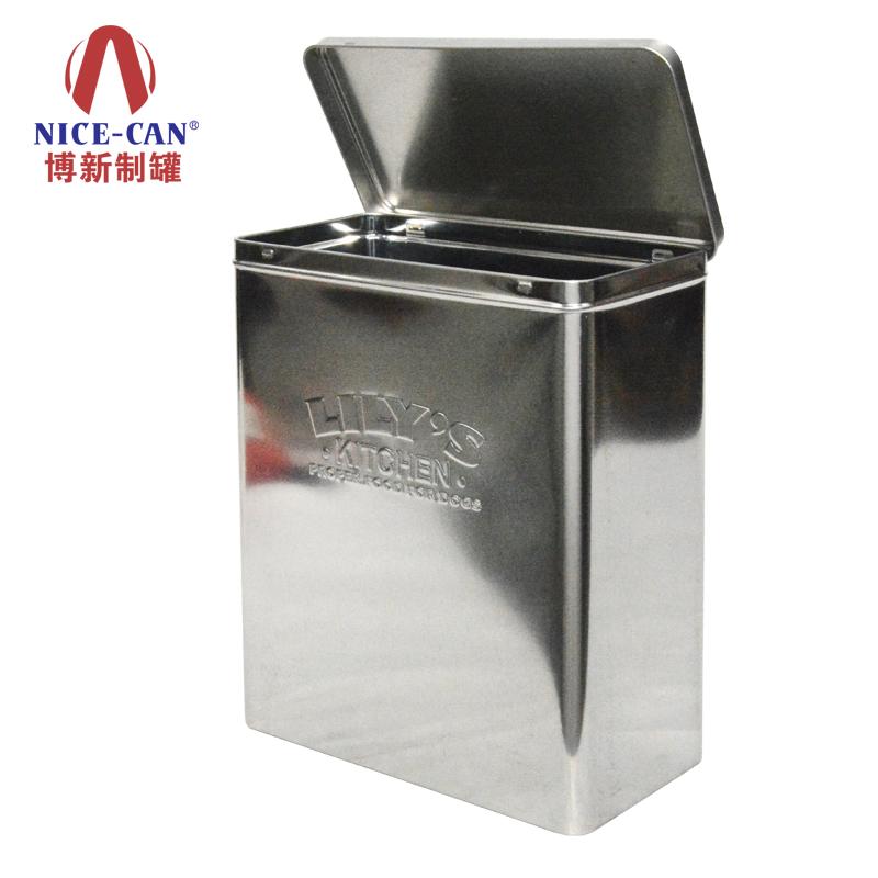 大号马口铁盒|无印刷铁盒|储物铁罐 NC2984A