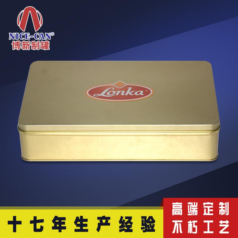 玛卡铁盒包装 阿胶铁盒子 方形铁盒 NC2458B-001