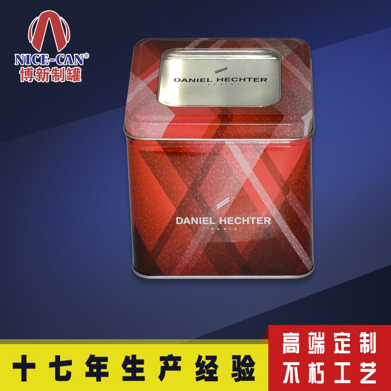 方形糖果食品铁罐|pvc马口铁食品罐|NC2583-007