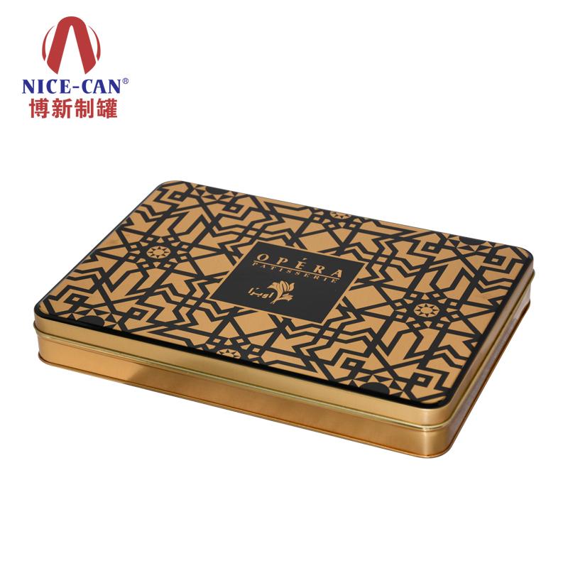 玛卡铁盒礼品包装|阿胶糕铁盒定做|保健品铁盒 马口铁 NC2709E-001