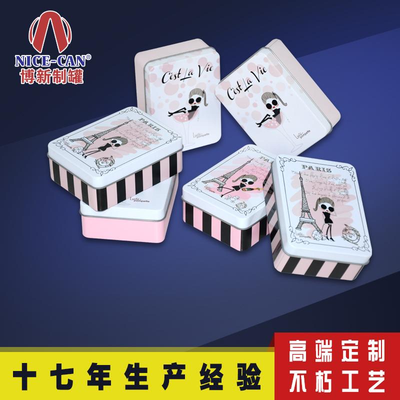 首饰铁盒包装|香水铁盒|方形马口铁盒 NC2567