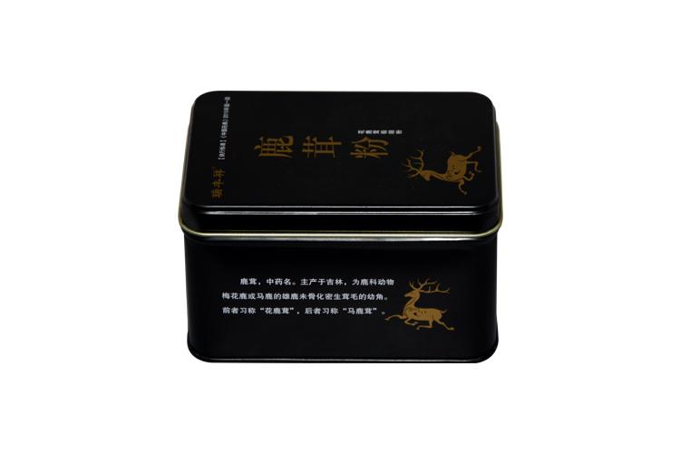 保健食品铁盒定制|玛卡铁盒礼品包装|方形马口铁盒 NC3056-009