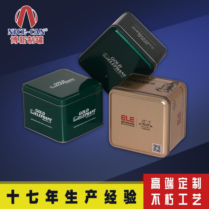 手表包装铁盒 马口铁手表盒 方形铁盒定制 NC2583B