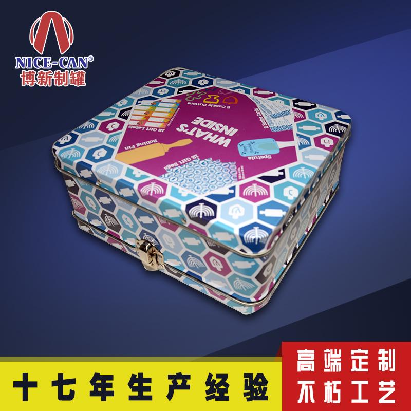 马口铁午餐盒|儿童便当铁盒|大号铁盒包装定制 NC3017-009