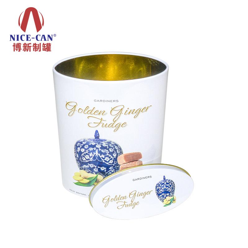 糖果马口铁盒|牛轧糖铁盒|高档巧克力铁罐定制 NC2808D