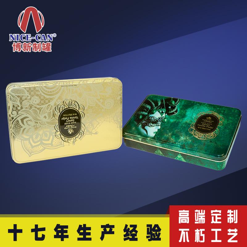 饼干盒铁盒|方形马口铁盒定制 NC2256