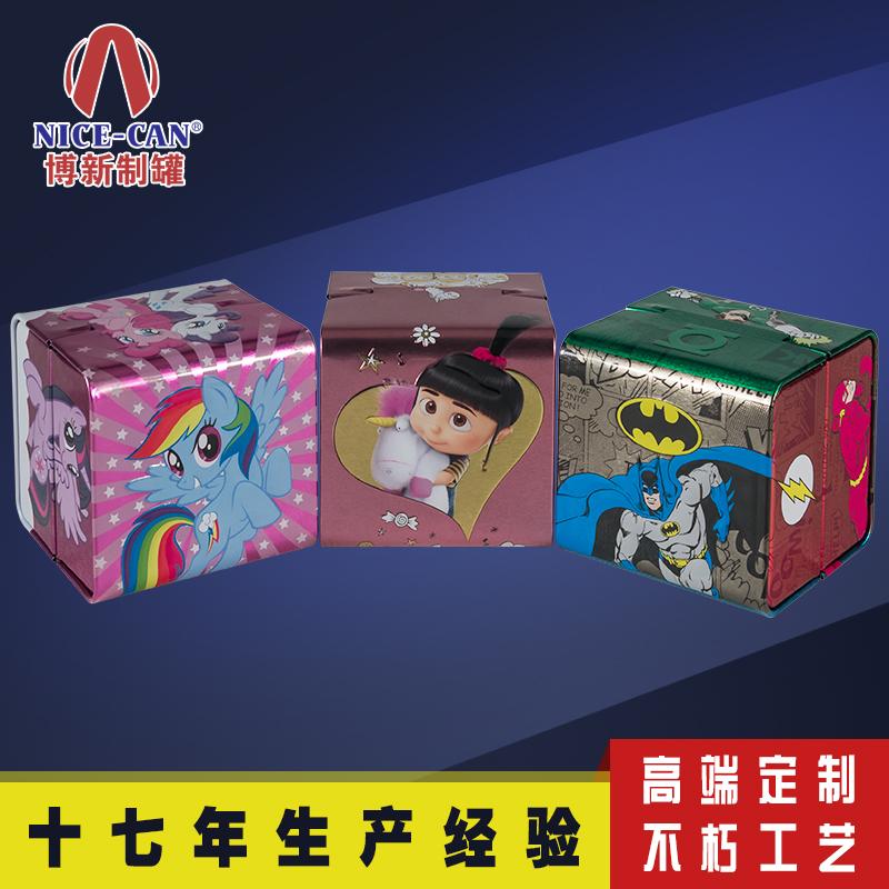 儿童手表铁盒|马口铁玩具收纳盒 NC3154