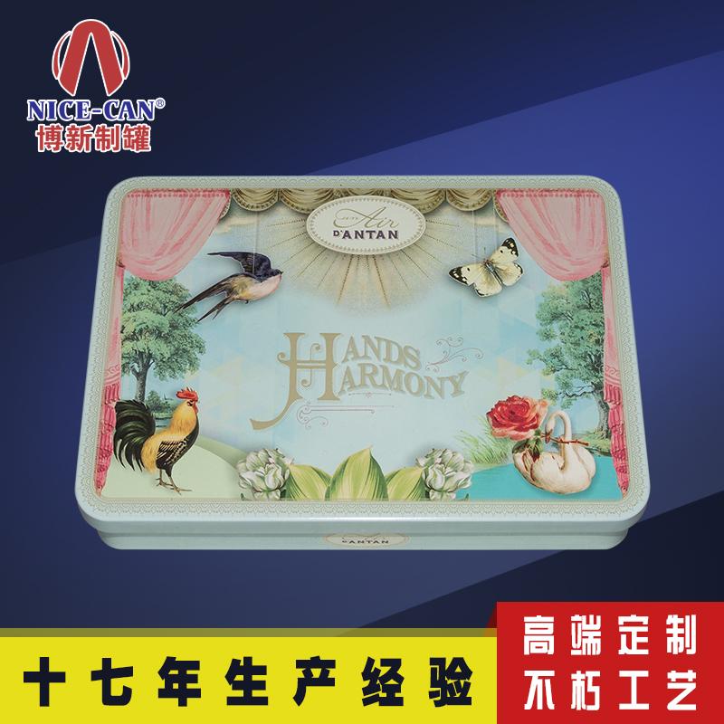 马口铁香薰收纳盒|月饼铁盒|化妆品铁盒 NC2684-008