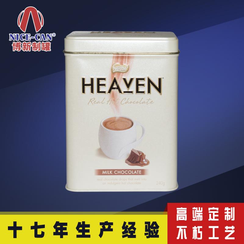 长方形铁盒|咖啡铁盒包装|食品马口铁月饼盒 NC2675K
