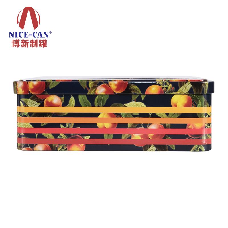 开窗马口铁盒|果仁铁盒|马口铁食品盒 NC2111-020(红果)