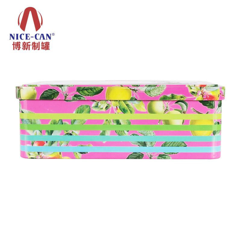 长方形马口铁盒|果仁铁盒|马口品盒 NC2111-022(青果)